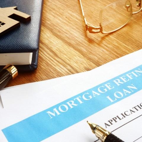 Mortgage refinance loan