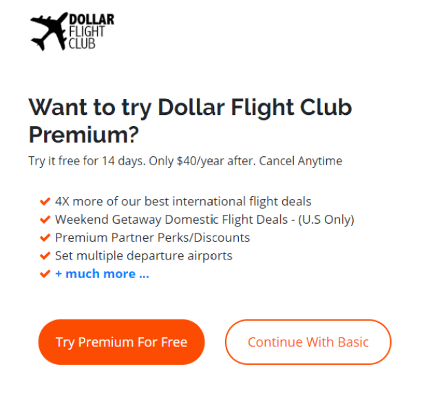 Dollar Flight Club review: How the site alerts you to flight deals
