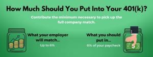Pick up the full company match
