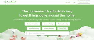 TaskRabbit homepage