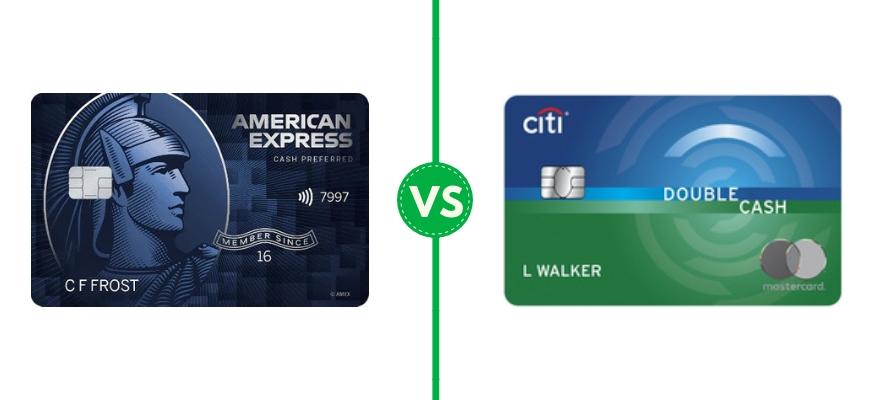 American Express Blue Cash Preferred vs Citi Double Cash