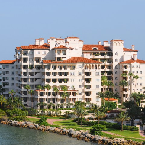 Timeshare building