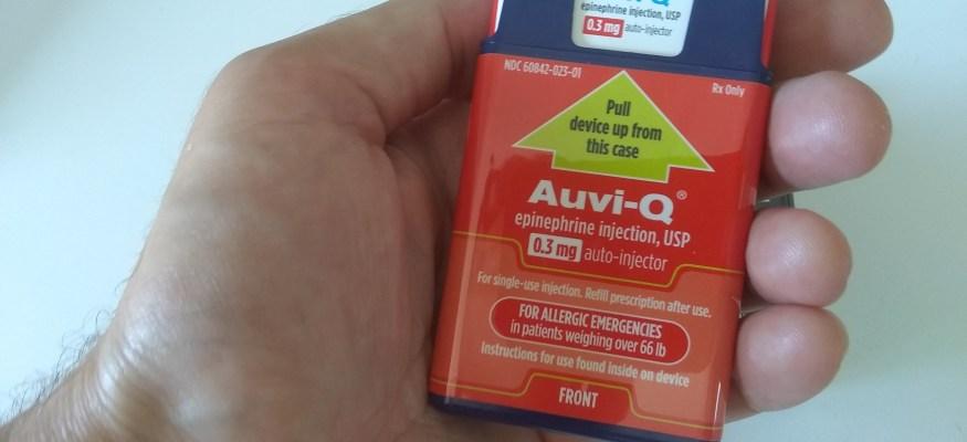 Auvi Q epinephrine auto-injector