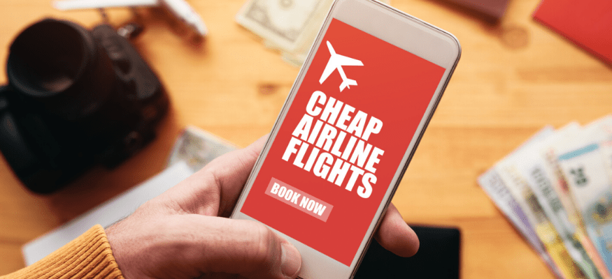 Cheap airline flights online mobile app