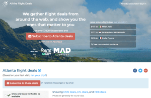 All The Flight Deals