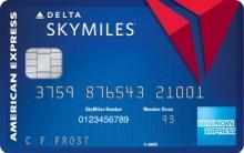Delta Skymiles American Express Blue card