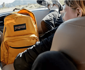 JanSport backpacks - products that you won't have to replace for a long time