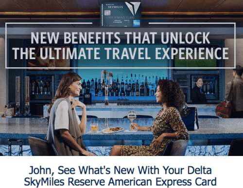 American Express Delta Skymiles Credit Card email