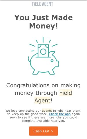 Field Agent: How to get paid for small jobs and make money