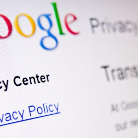 Google privacy data