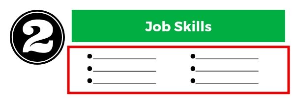 How to fill out job sills on a job application