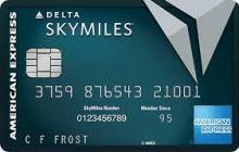 Delta Skymiles Reserve American Express Card