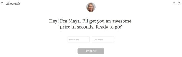 Lemonade Insurance AI chatbot Maya