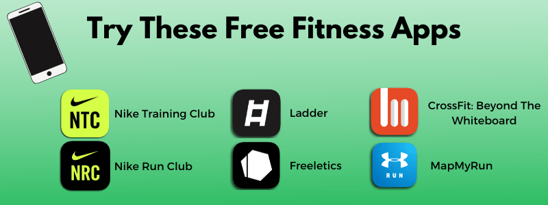 6 free fitness apps