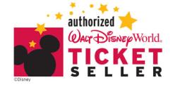 authorized Walt Disney World ticket seller emblem