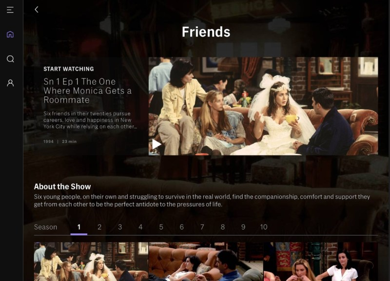 Friends is one of the popular TV series features on HBO Max.