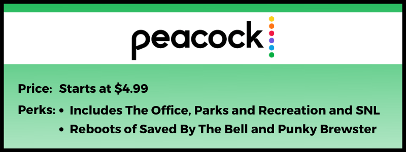NBC Peacock became the streaming home of The Office in 2021.