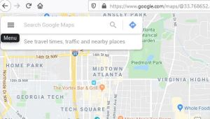 How to delete Google Maps location history from menu
