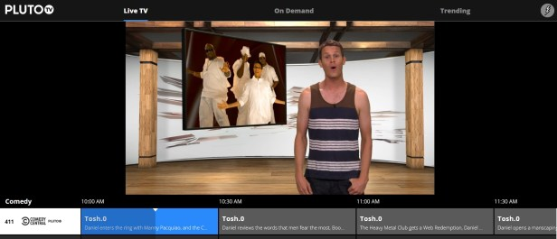Pluto TV gives access to some popular streaming content.