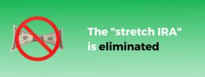 Stretch IRA eliminated