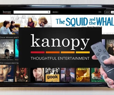 Kanopy is a free streaming service available through libraries.