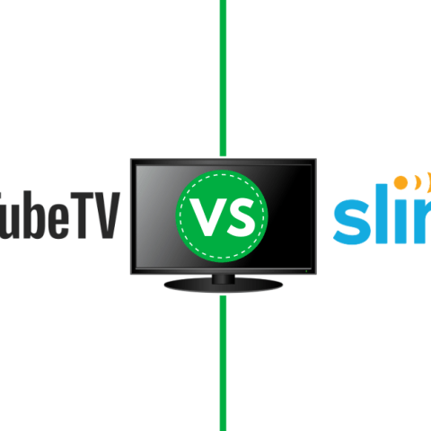 YouTube vs. Sling streaming services