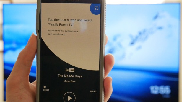 Cast videos to your TV via Chromecast.