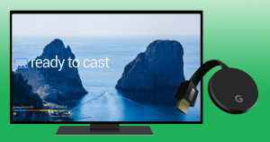 Ready to use your Google Chromecast