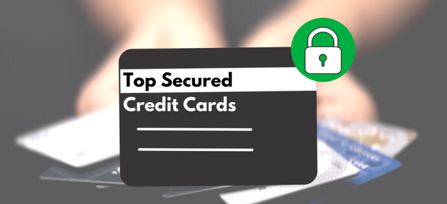 Secured credit cards can help build or restore personal credit.