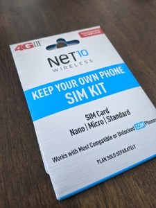 Net10 Sim Card Kit