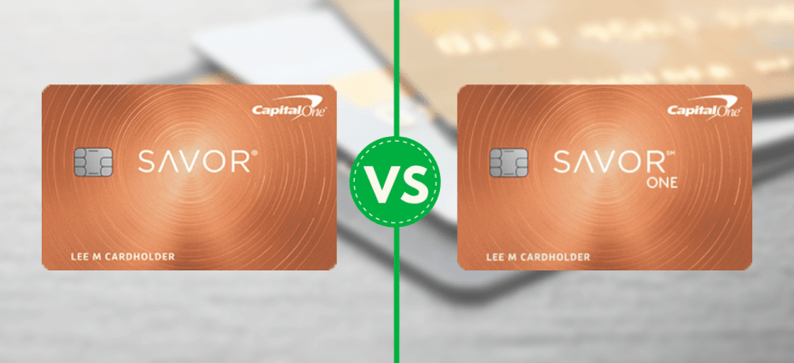The Capital One Savor and the SavorOne are cash back cards that reward dining and entertainment.