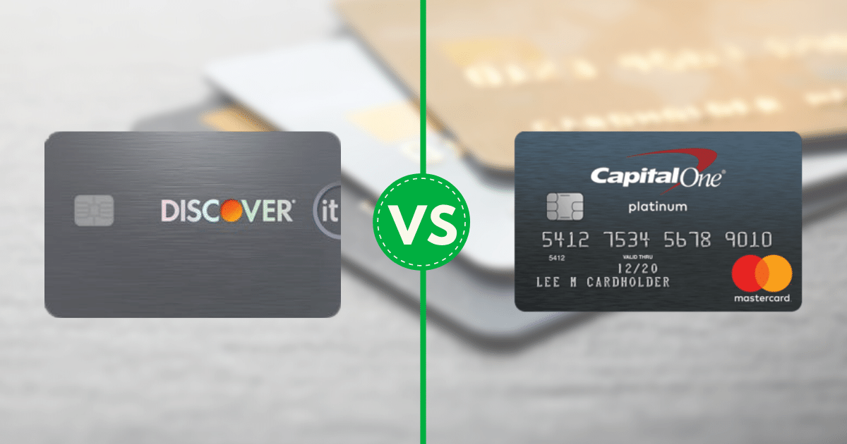 Discover it® Secured vs. Secured MasterCard® from Capital One
