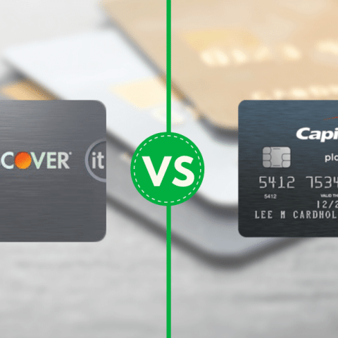 The Discover it® Secured and the Capital One® Secured Mastercard® are two of the top choices in their category.