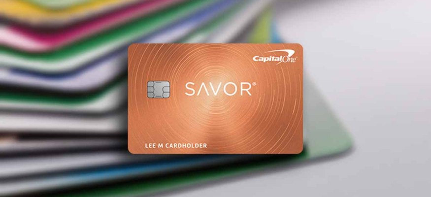 Capital One Savor offers 4% cash back on dining and entertainment purchases.