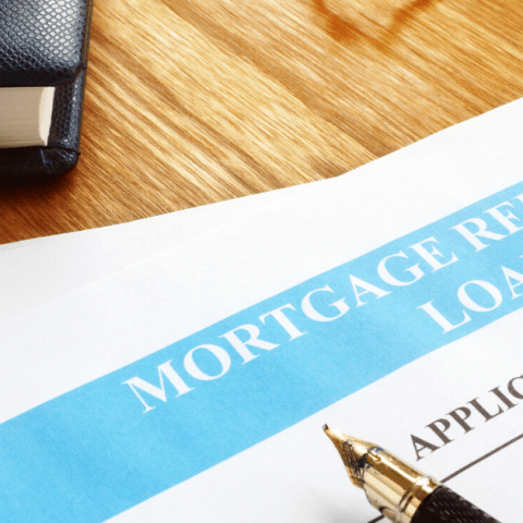 mortgage refinance loan application