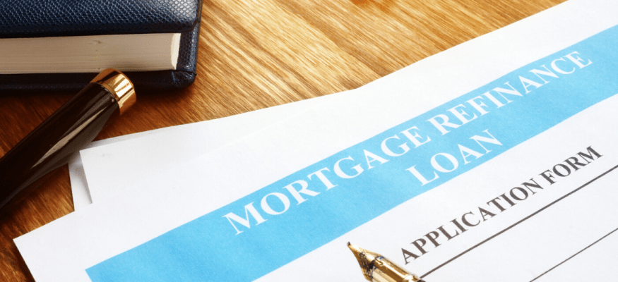 mortgage refinance loan application