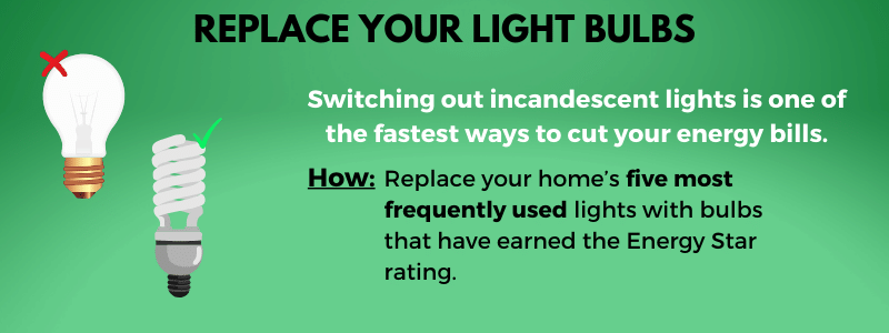 Replace your light bulbs