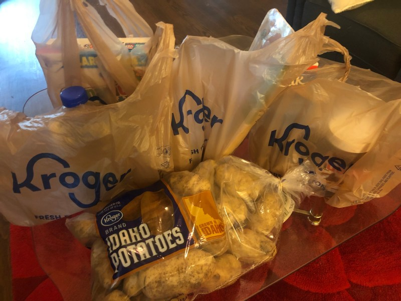 Groceries delivered from Instacart