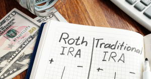 Roth IRA and traditional IRA