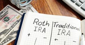 Roth IRA and traditional IRA