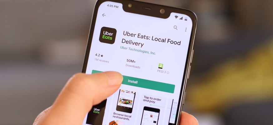 Uber Eats delivery and pickup app