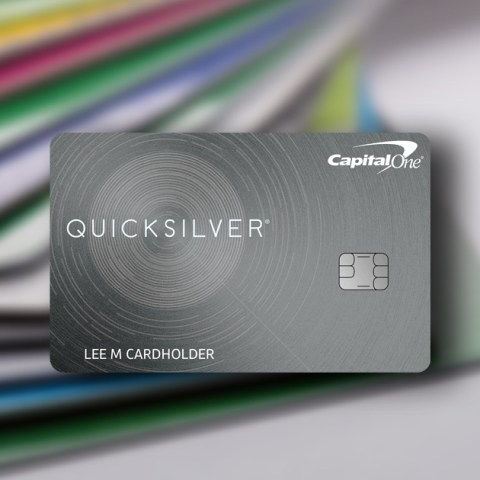 Quicksilver from Capital One has balance transfer and cash back opportunities.