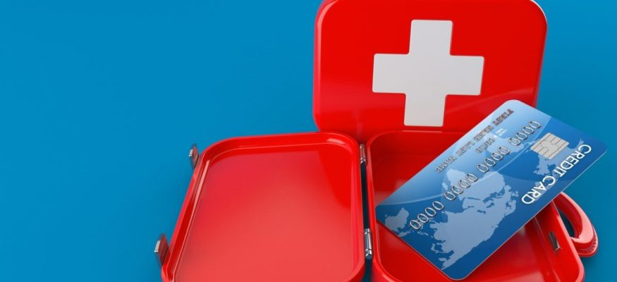 How to use a credit card in an emergency
