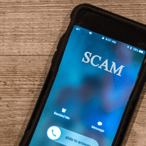 scam mobile phone call