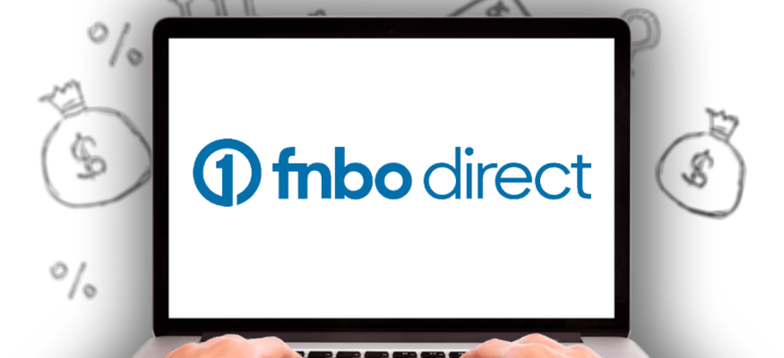FNBO Direct logo on laptop computer