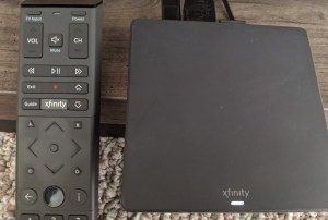 Xfinity provides both a receiver box and a remote control with the Flex device.