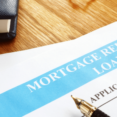 mortgage refinance loan application form