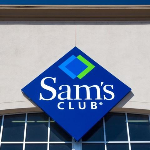 Sam's Club curbside pickup