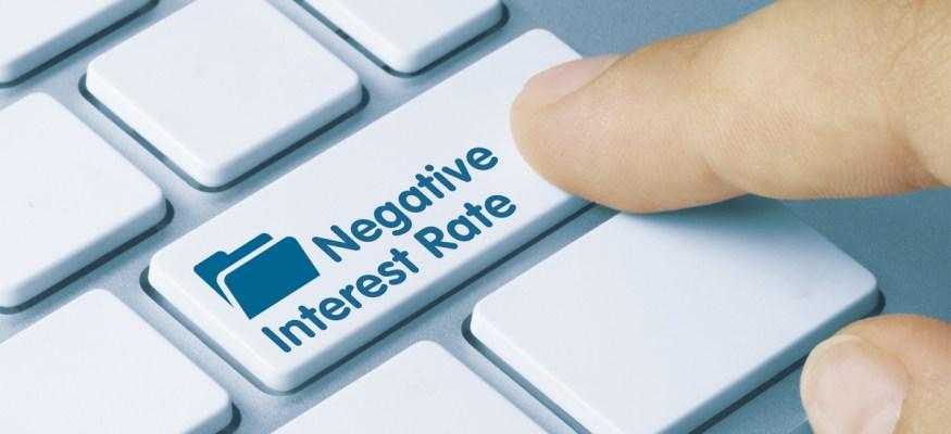 Negative interest rates