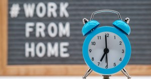 alarm clock for a work-from-home job